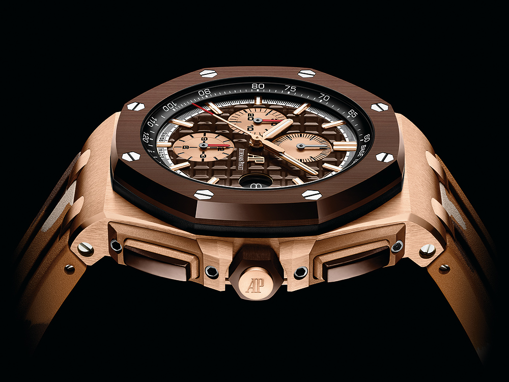 Audemars Piguet Royal Oak Offshore Selfwinding Chronograph - Brown camo