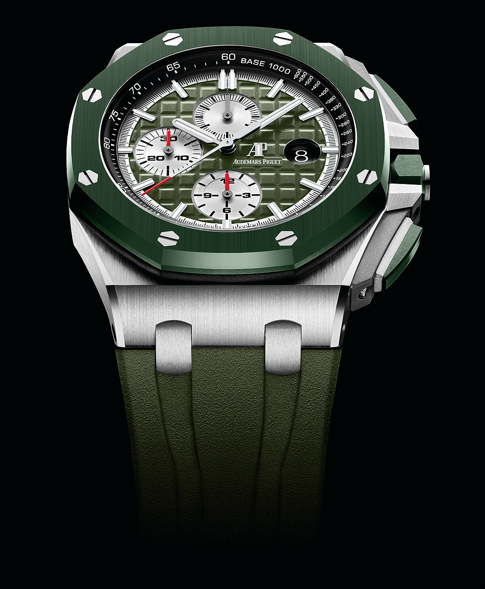 Audemars Piguet Royal Oak Offshore Selfwinding Chronograph - Green camo