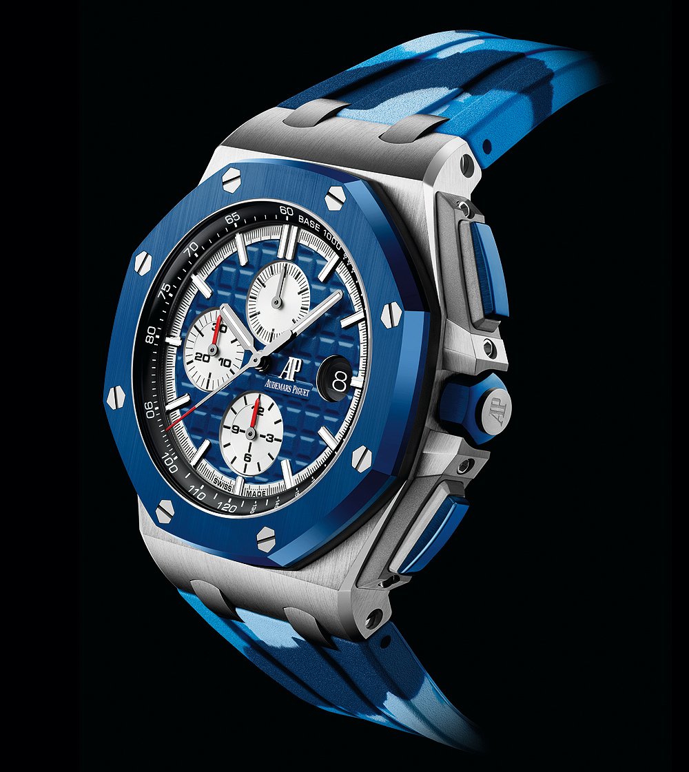 Audemars Piguet Royal Oak Offshore Selfwinding Chronograph - Blue camo