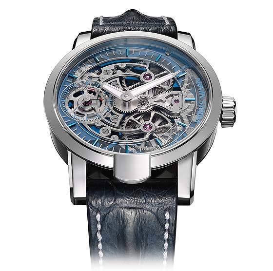 Armin Strom Skeleton Pure Water - front