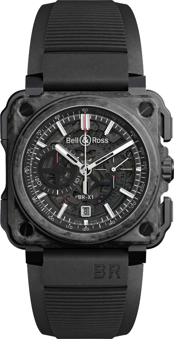 Bell & Ross BRX1-Carbone-Forge-soldier folded strap 560