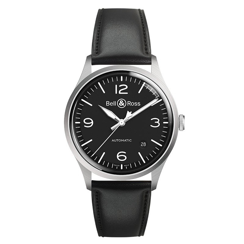 Bell & Ross BR-V1-92 Black Steel - front