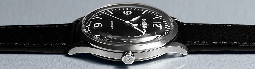Bell & Ross BRV1-92 Black Steel - side