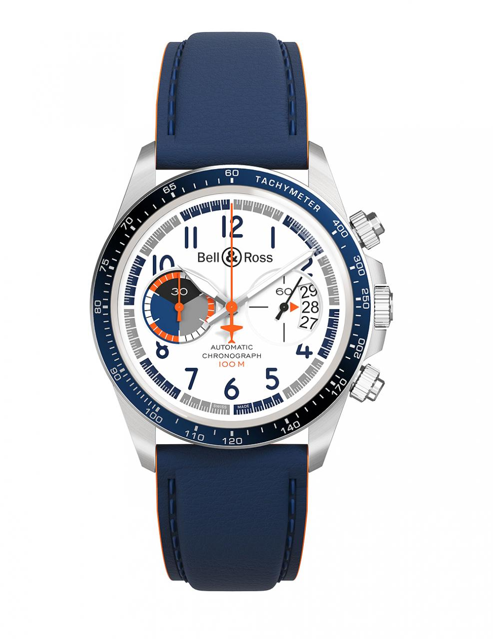 Bell & Ross BR V2-94 Racing Bird - strap