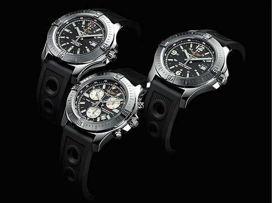 Breitling Colt Automatic, Colt Chronograph and Colt Quartz