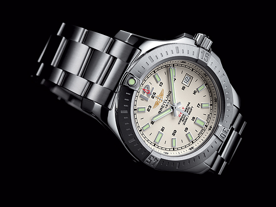 Breitling Colt Automatic - Silver Dial, Steel Bracelet