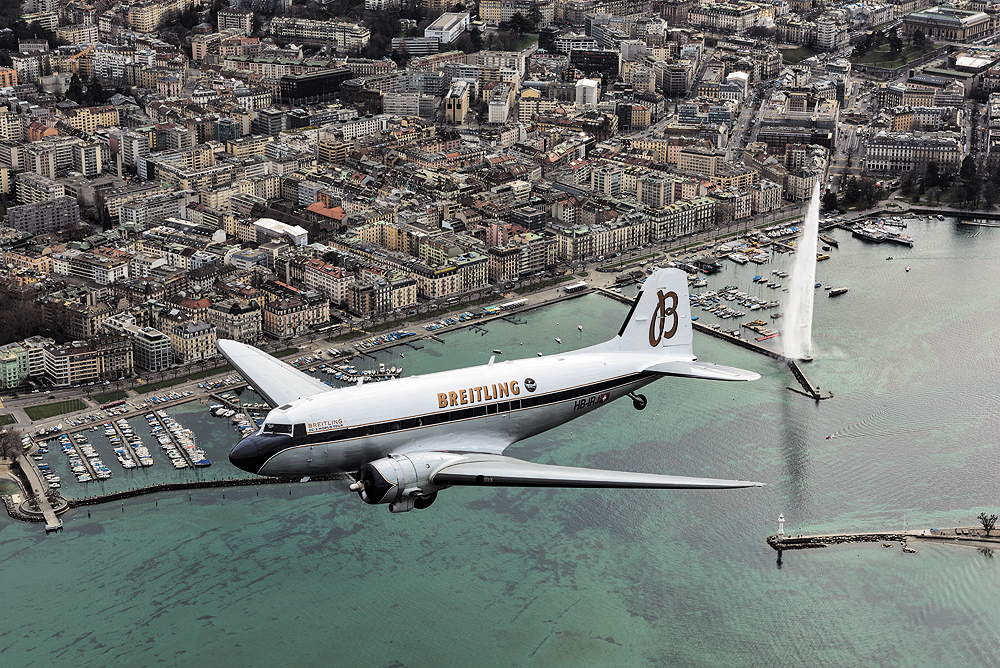 Breitling DC-3 World Tour - Geneva