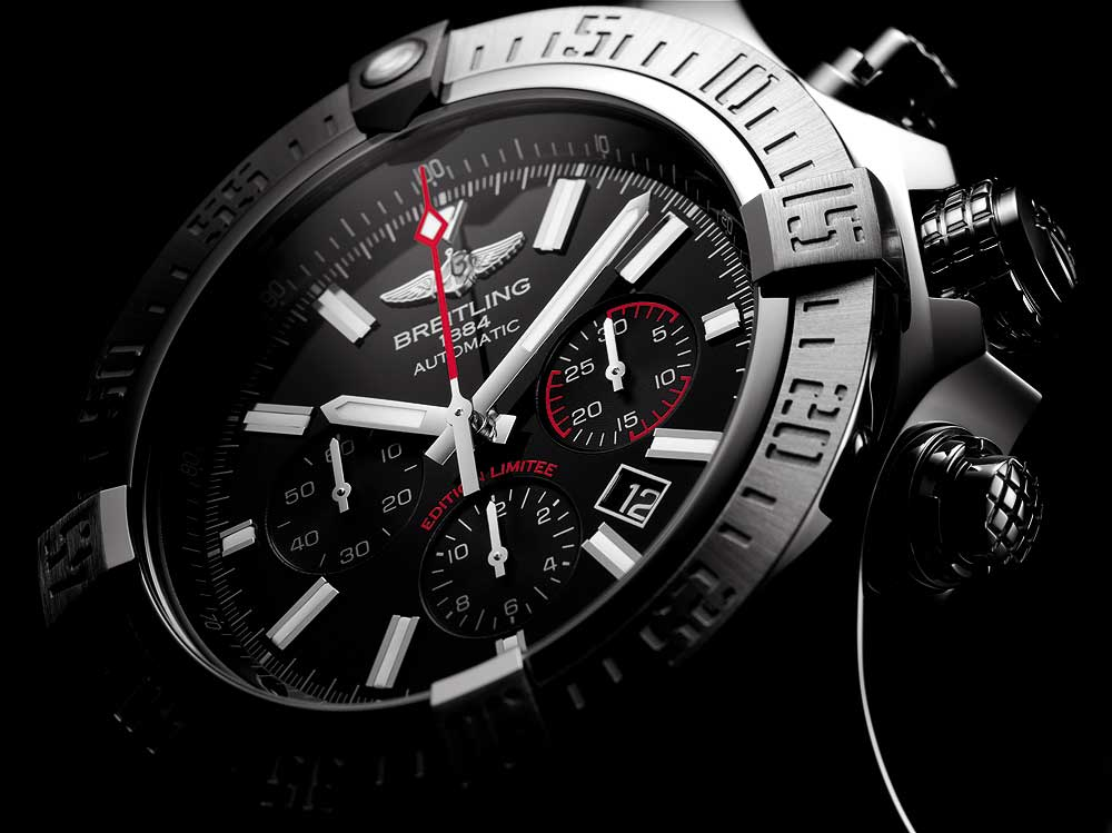 Breitling Super Avenger 01 Boutique Edition - dial CU