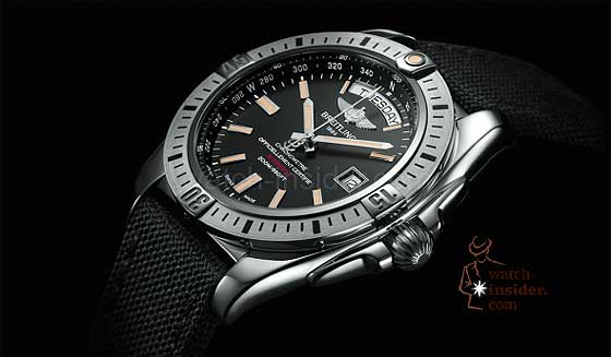 Breitling Galactic 44 - side
