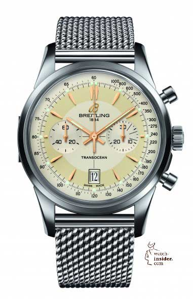 Breitling Transocean Chronograph Edition - front