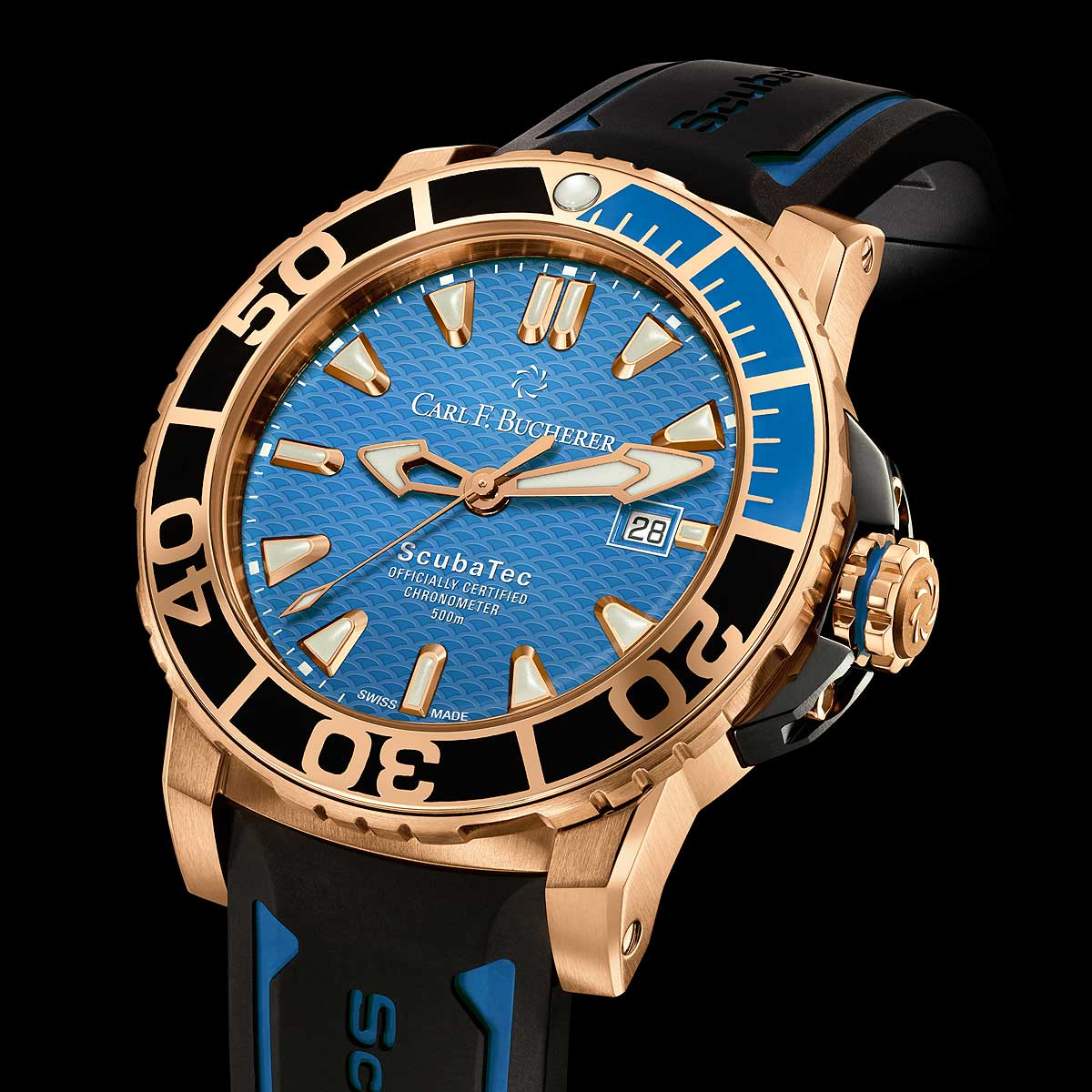 Carl F. Bucherer Patravi ScubaTec - rose-gold