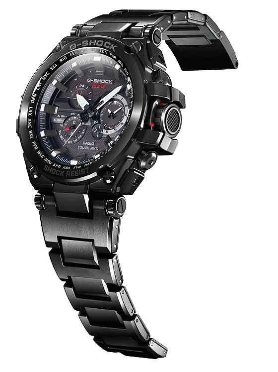 Casio G-Shock MTGS1000BD-1A - black IP steel