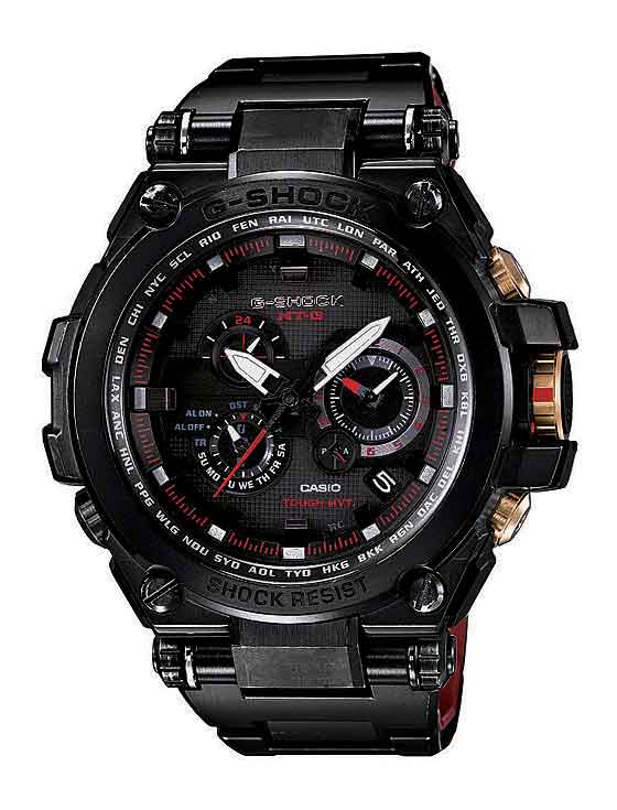Casio G-Shock MTGS1000BD-1A - black/gold LE