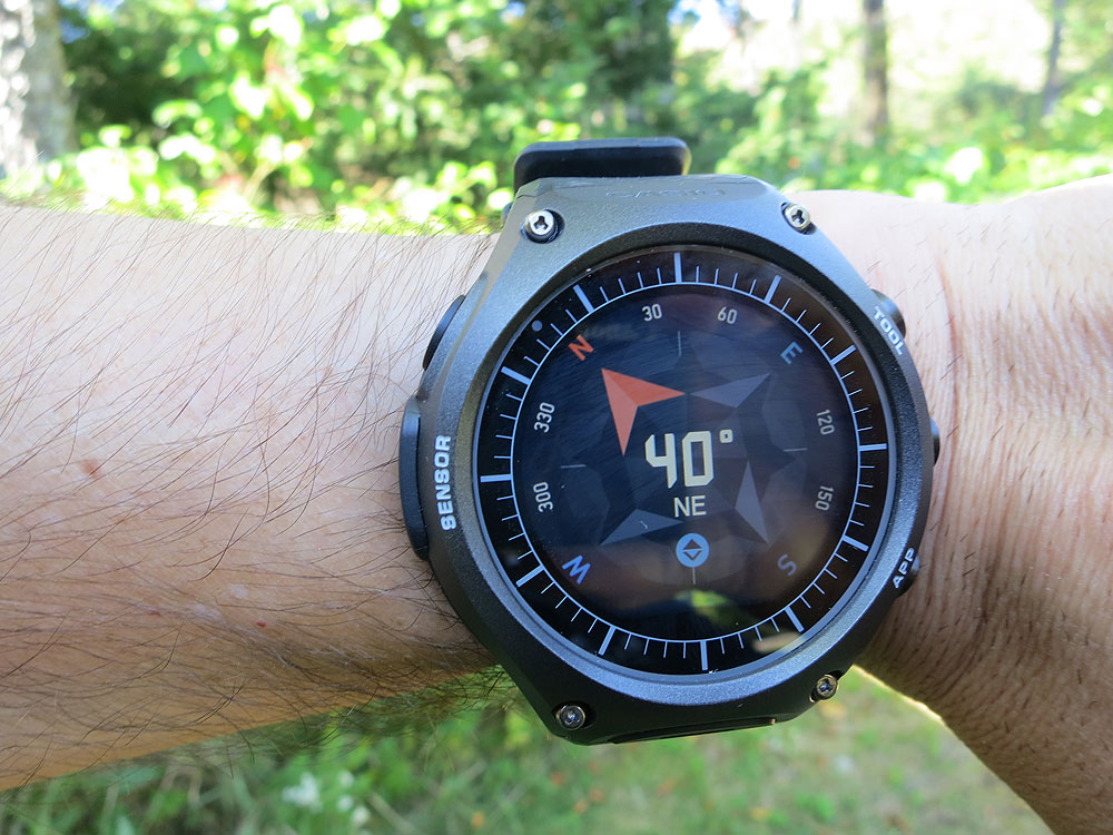 Casio Smart Outdoor Watch - compass - wrist