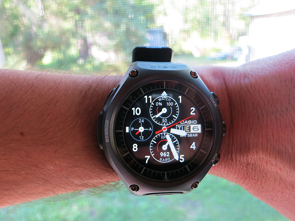 Casio Smart Outdoor Watch - multiple