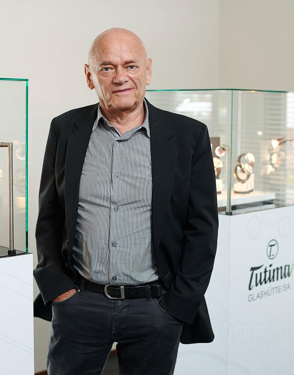 Dieter Delecate of Tutima watches