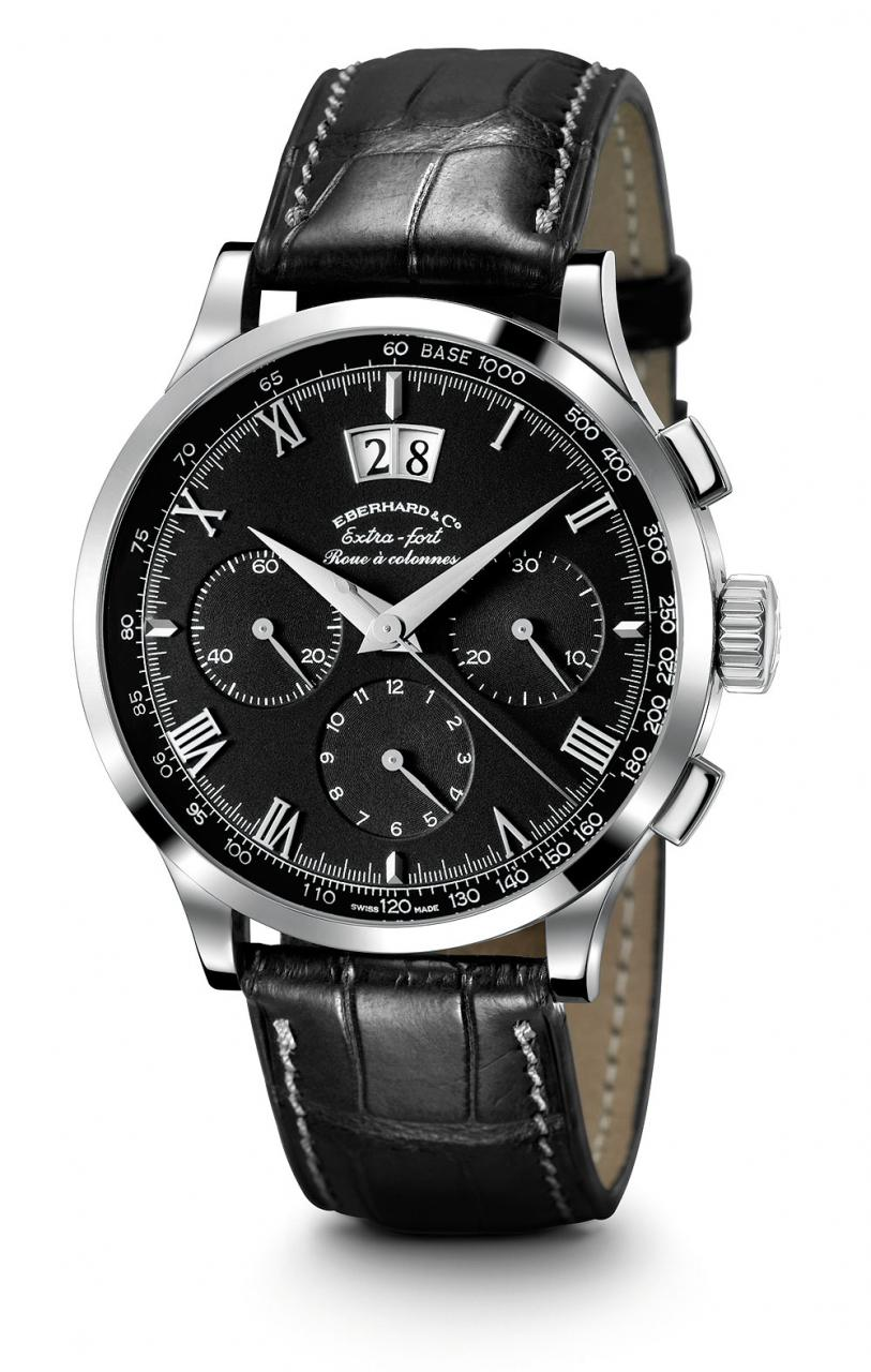 Eberhard Extra-Fort Roue a Colonnes Grande Date