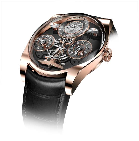 Emmanuel Bouchet Complication One - gold case