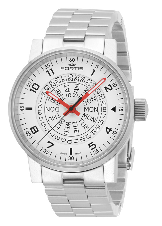 Fortis Spacematic White-Red