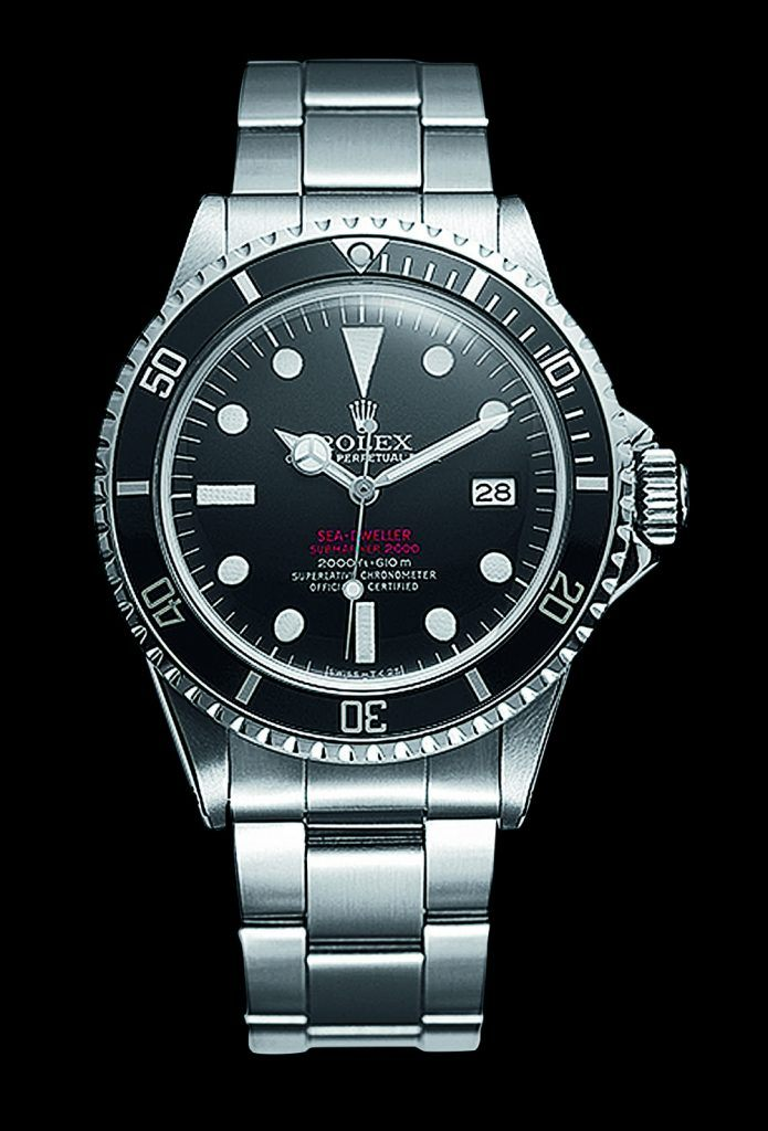First Rolex Sea-Dweller, 1967