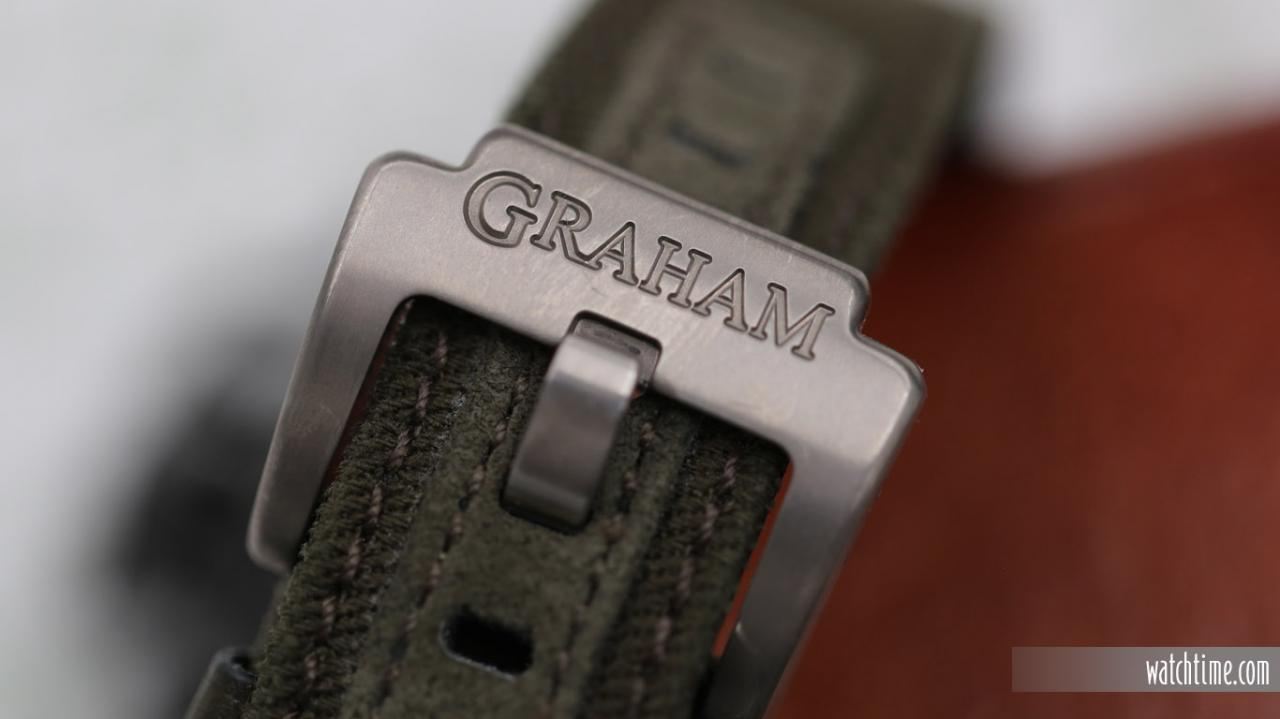 Graham Chronofighter Vintage Aircraft Ltd - Buckle