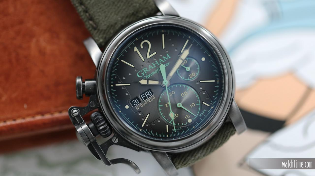 Graham Chronofighter Vintage Aircraft Ltd - Front
