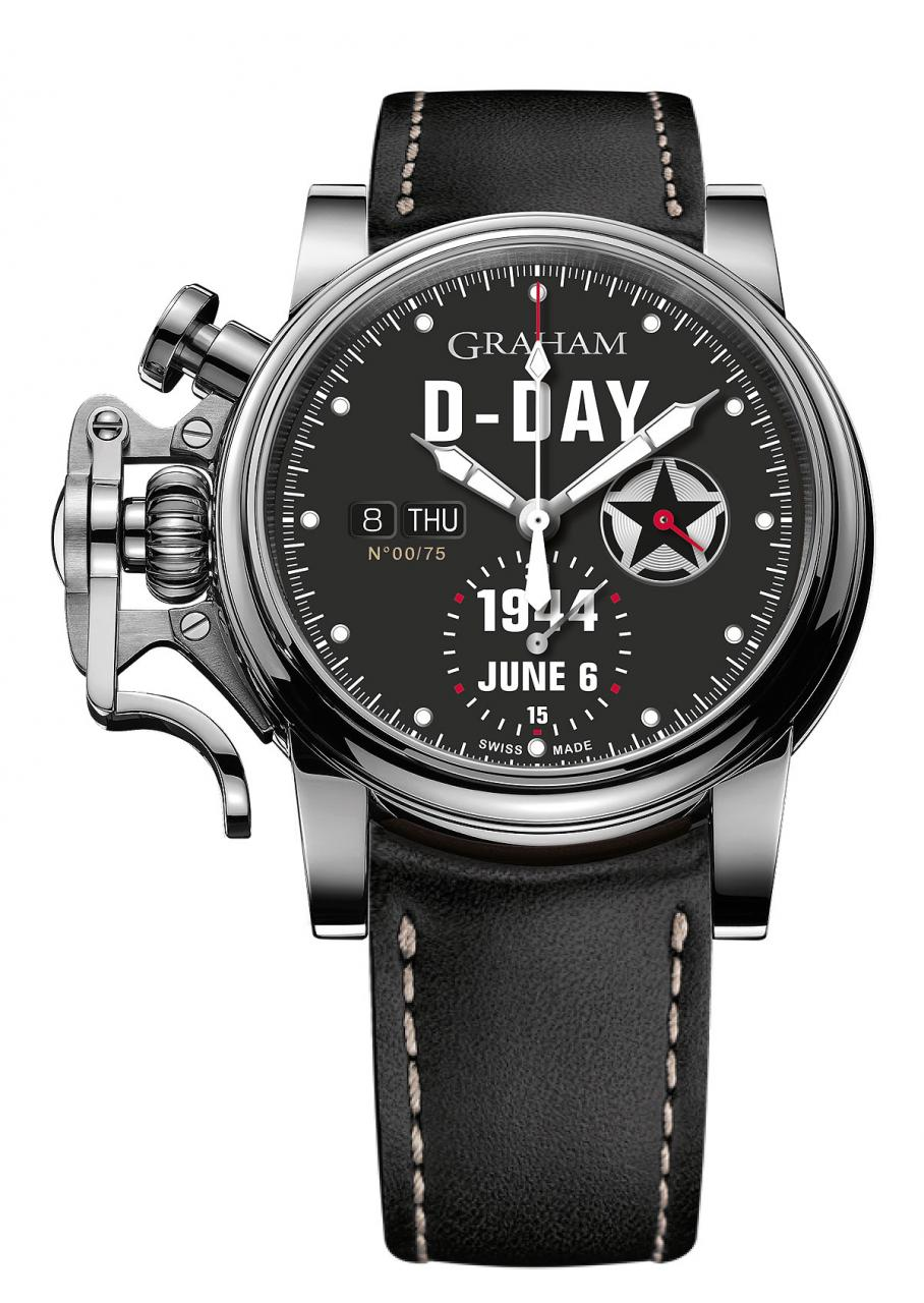 Graham Chronofighter Vintage D-Day - front