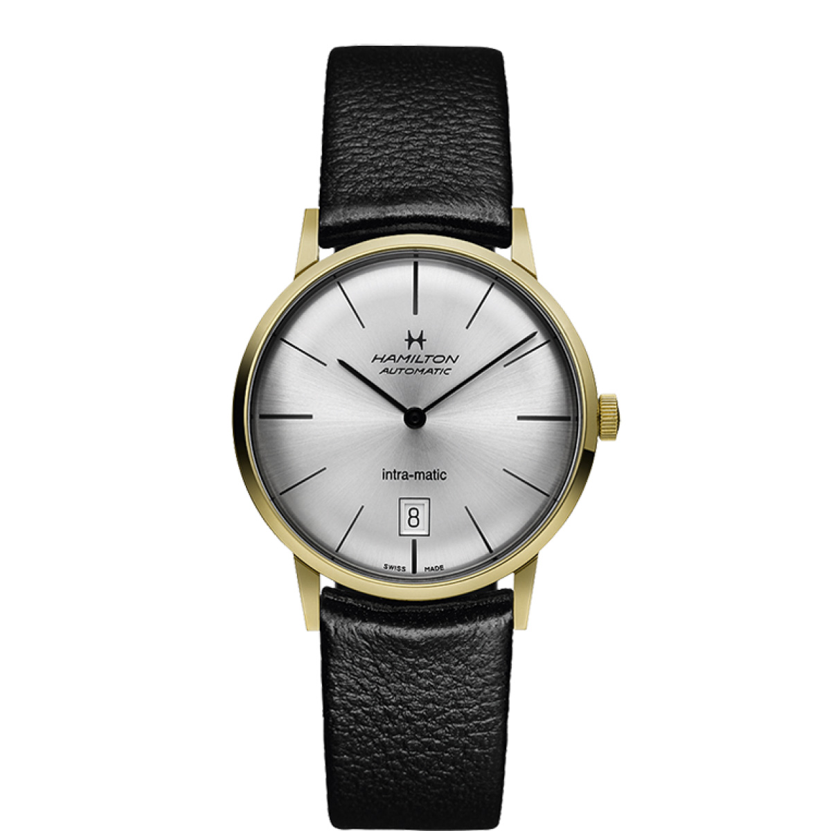 Hamilton Intra-Matic Auto - Gold