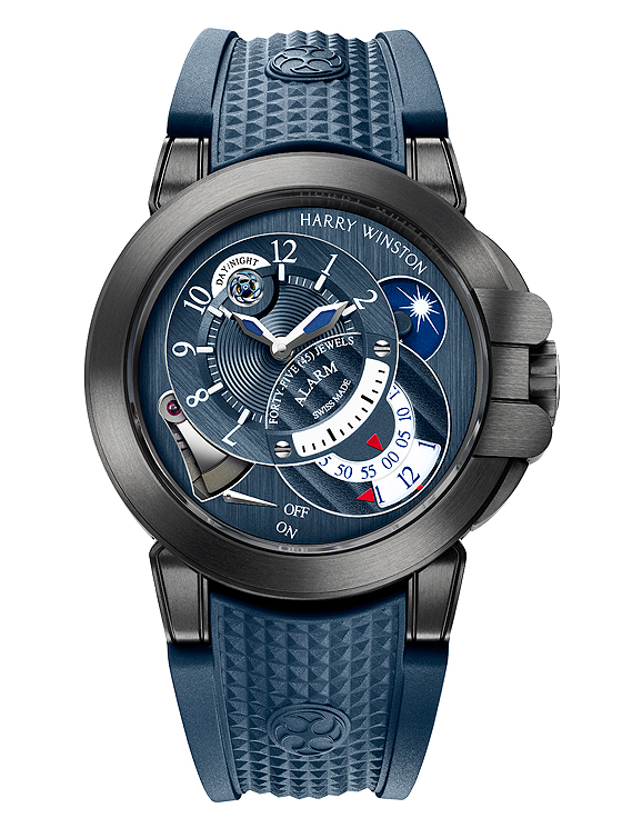 Harry Winston Project Z6 Blue Edition