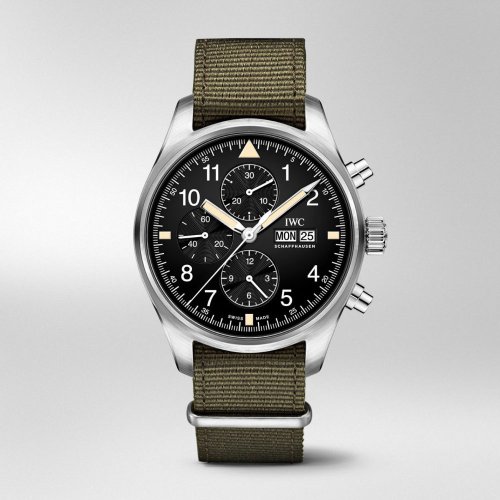 IWC Pilots Chronograph - front