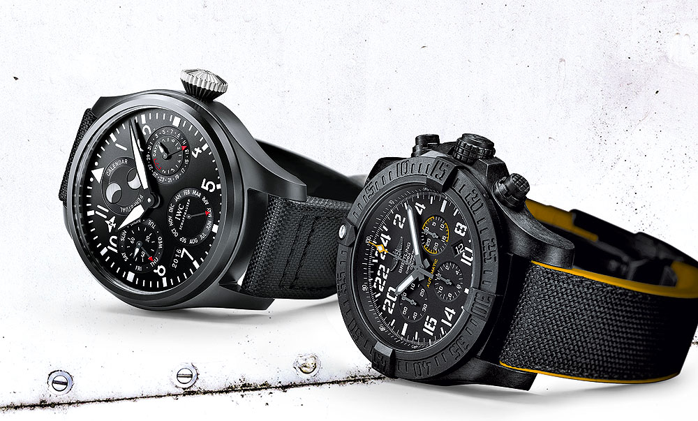 IWC & Breitling Military Pilots Watches