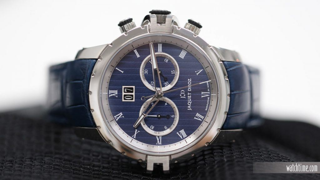 Jaquet Droz: Grande Seconde SW Chrono - Blue