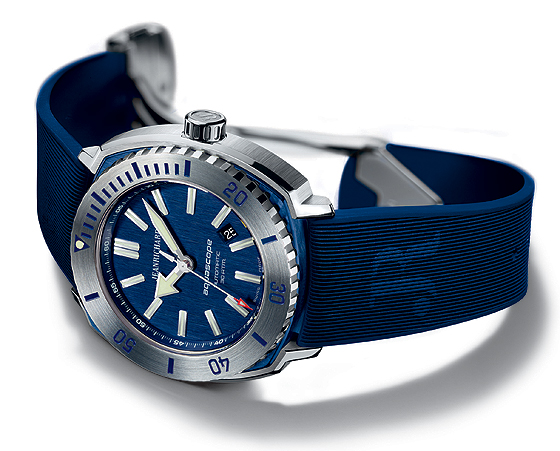 JeanRichard Aquascope - blue dial