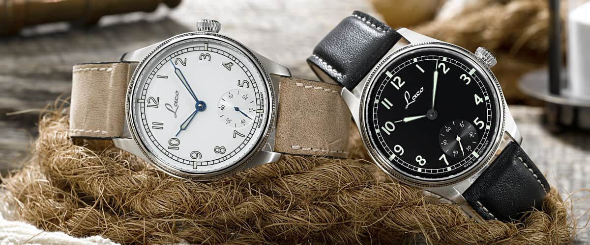 Laco Navy Watches - reclining