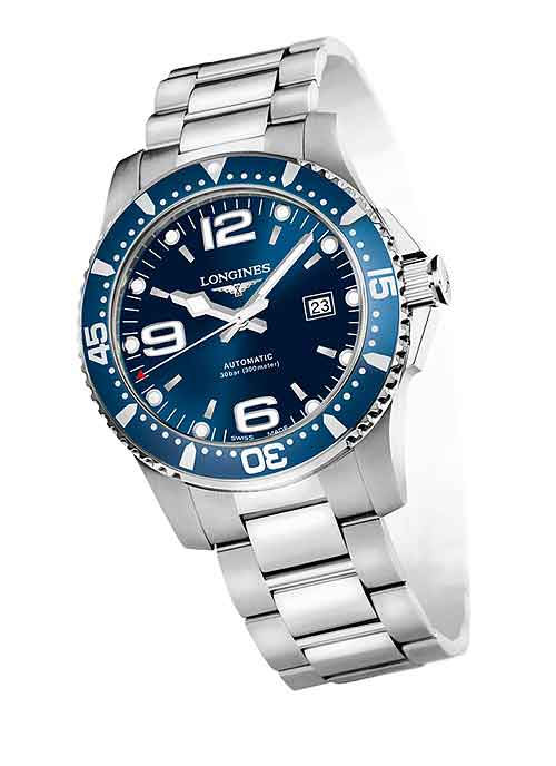 Longines HydroConquest - blue dial