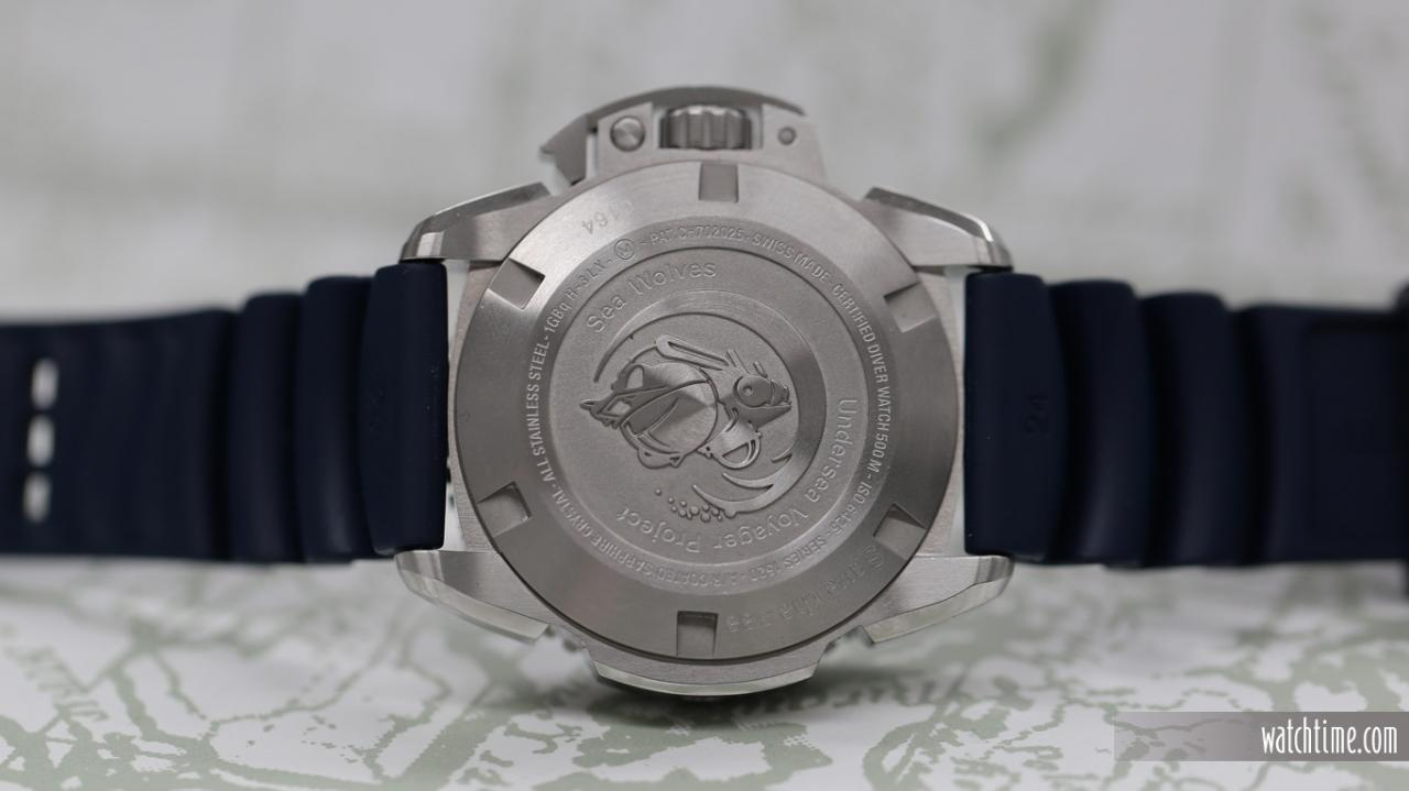 Luminox Scott Cassell Deep Dive- Back