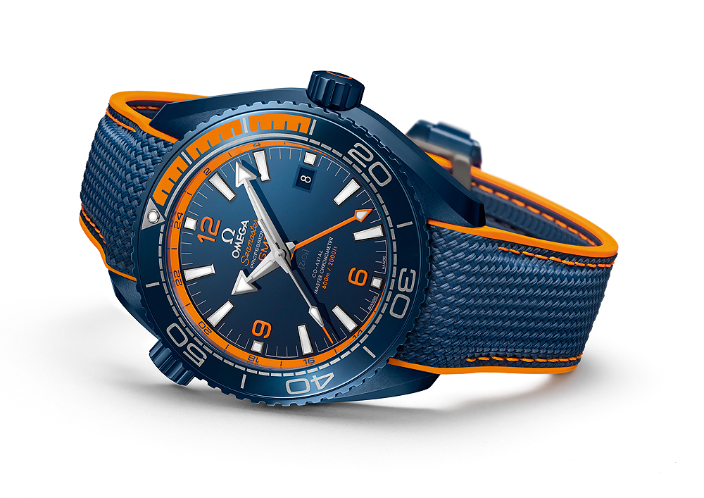 Omega Seamaster Planet Ocean Big Blue - reclining