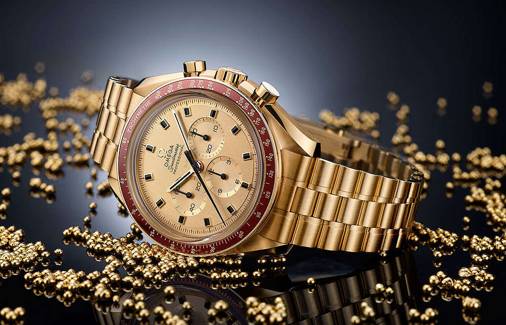 Omega Speedmaster Apollo 11 50th Anniversary LE - reclining