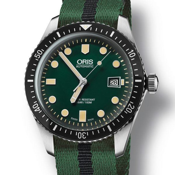 Oris Diver Sixty-Five - green dial
