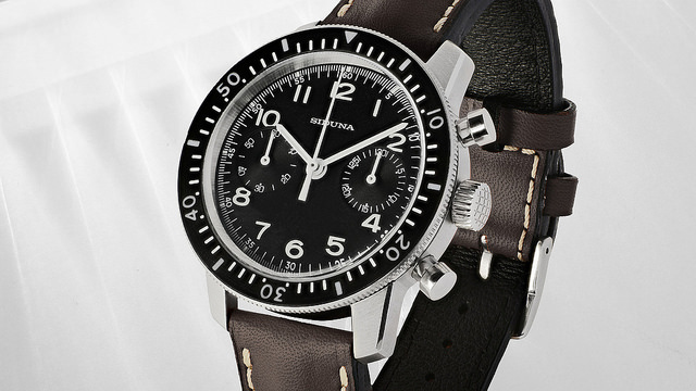 Siduna M4330 Chronograph - angle-brown