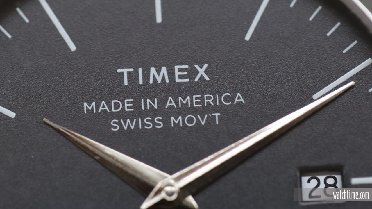 Timex American Documents - Dial - hands