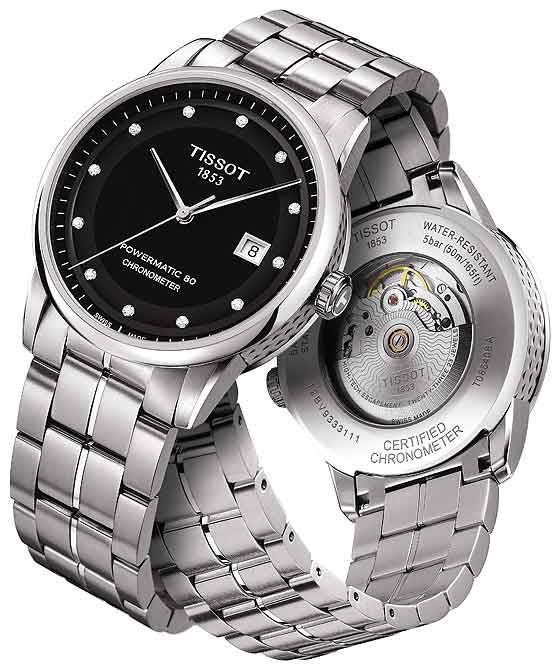 Tissot Luxury Automatic COSC Gent T086 - front-back