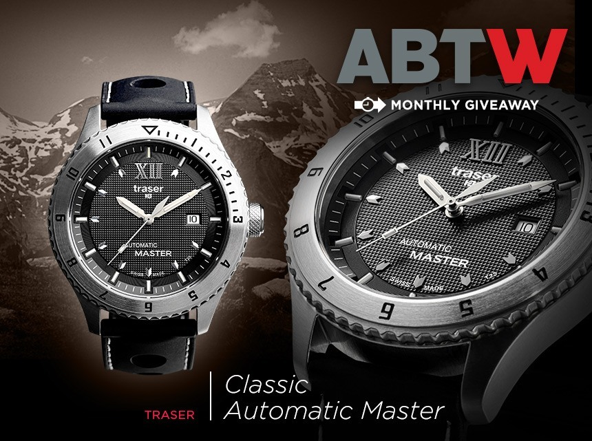 Winner Announced: Traser Classic Automatic Master Replica Watch Giveaway Giveaways