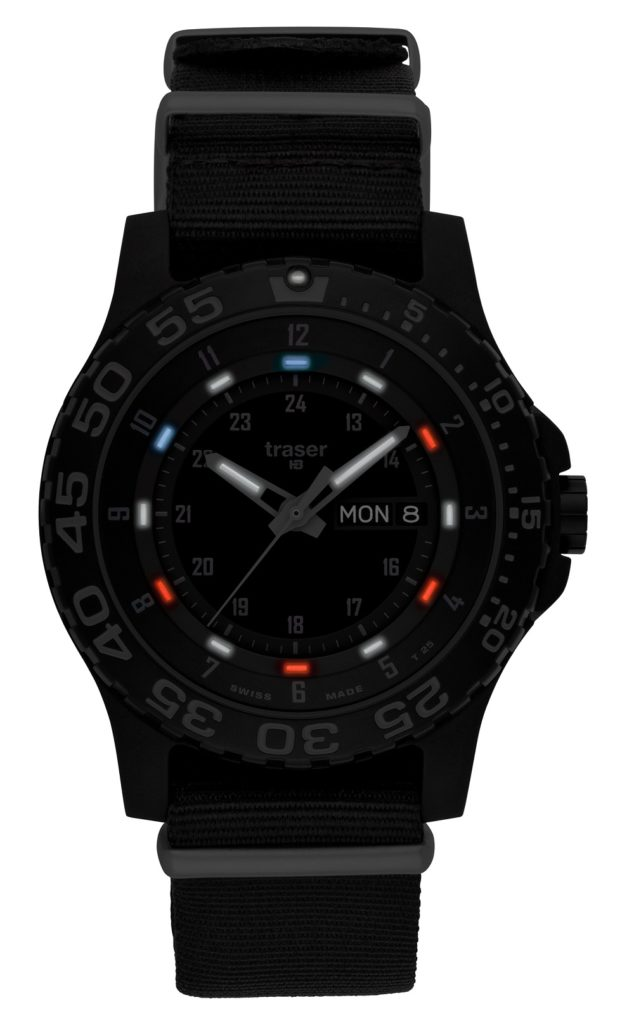 Traser P6600 Shade 'Red, White, & Blue' Special Edition Tactical Replica Watch Replica Watch Releases