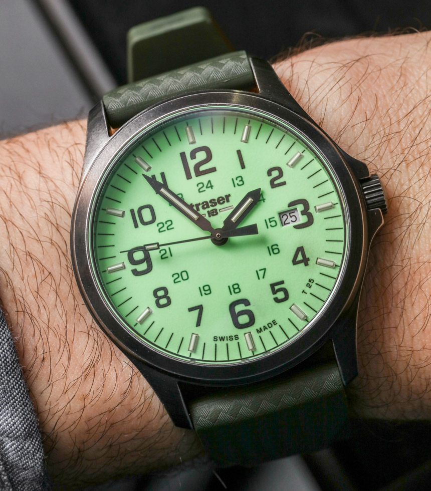 Traser P67 Officer Pro Gun Metal Lime & Orange Replica Watches Hands-On Hands-On