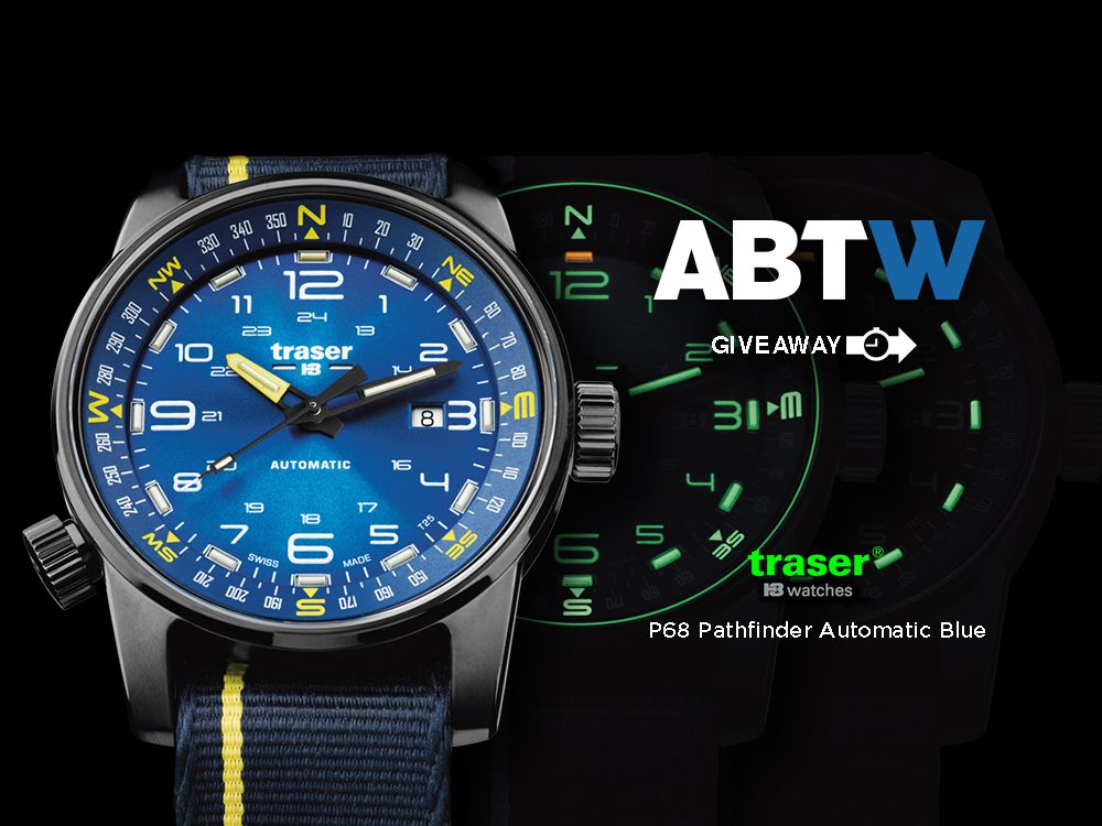 Watch Giveaway: Traser P68 Pathfinder Automatic Giveaways