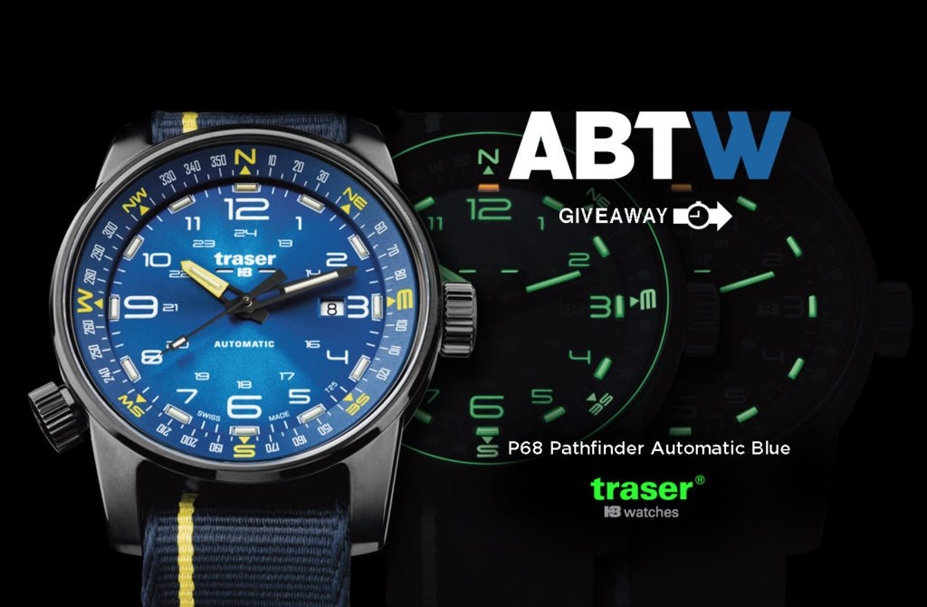 Winner Announced: Traser P68 Pathfinder Automatic Replica Watch Giveaway Giveaways