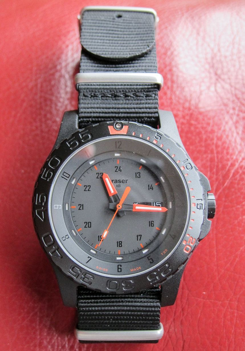 Watch Winner Review: Traser Red Combat Giveaways