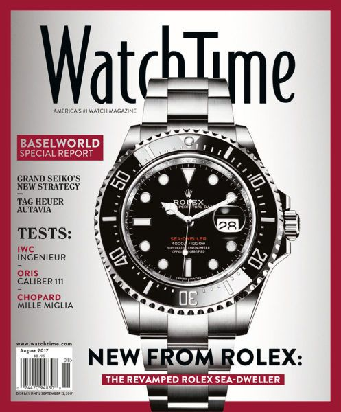 WatchTime August 2017 Issue