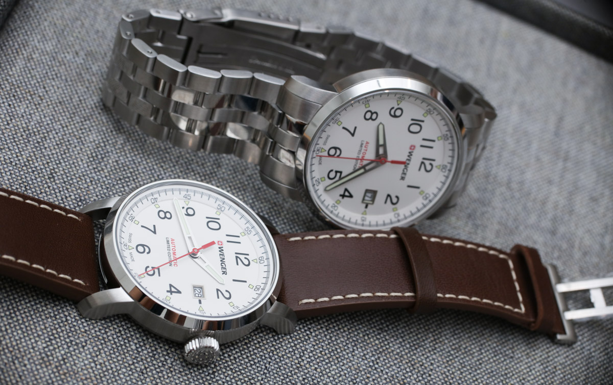 Wenger Attitude Heritage Automatique Replica Watch Hands-On Hands-On